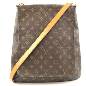 Musette Salsa Shoulder Monogram Canvas Cross Body